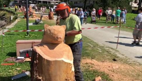"""Prima edizione della """"Festa del boscaiolo"""" ad Ovindoli"""