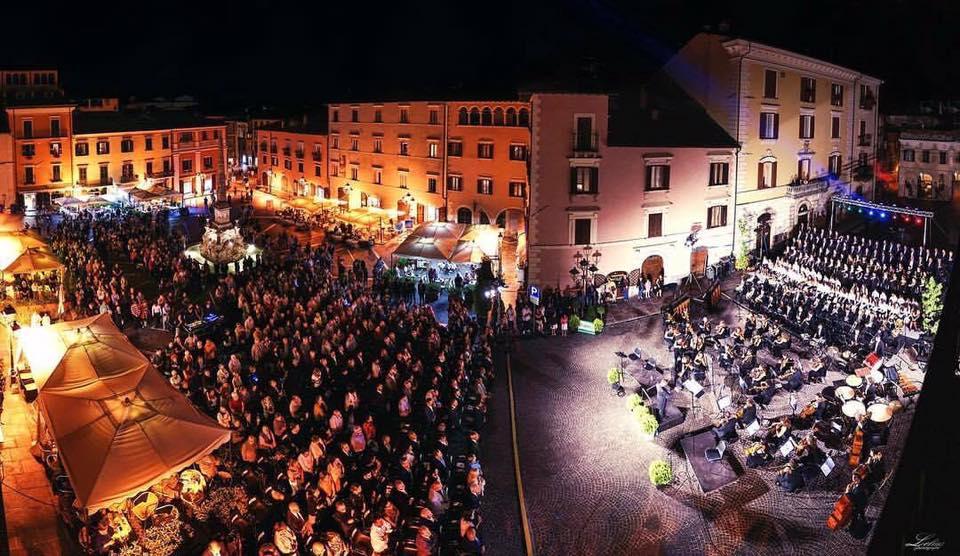 La Nona sinfonia di Beethoven diretta da Sipari inaugura la 35° edizione del Festival di Tagliacozzo