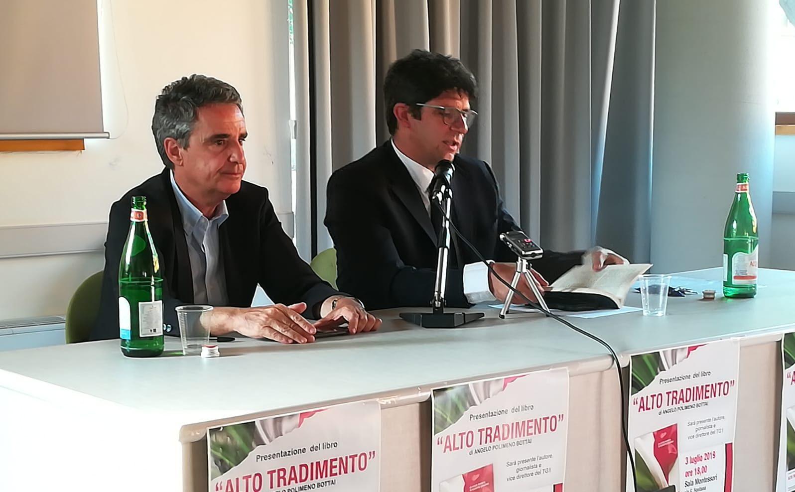 """Ad Avezzano Polimeno Bottai svela l'""""Alto tradimento"""" dietro le privatizzazioni degli anni Novanta"""