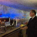 Avezzano, immancabile allagamento del sottopasso di via Don Minzoni, macchina bloccata (VIDEO)