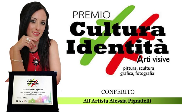 Il Premio Cultura Identità ad Alessia Pignatelli