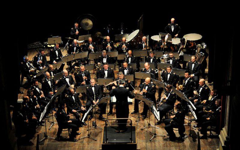 Concerto della Banda della Aeronautica Militare a Scurcola Marsicana