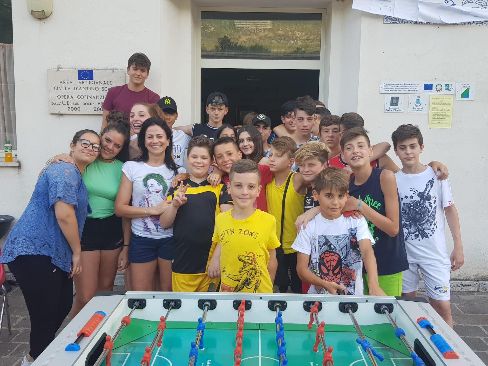 Campus estivo Web Solution a Civita D'Antino