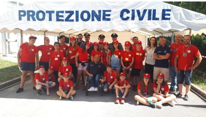 Carabinieri e Protezione Civile insieme nei campi scuola estivi in favore di ragazzi
