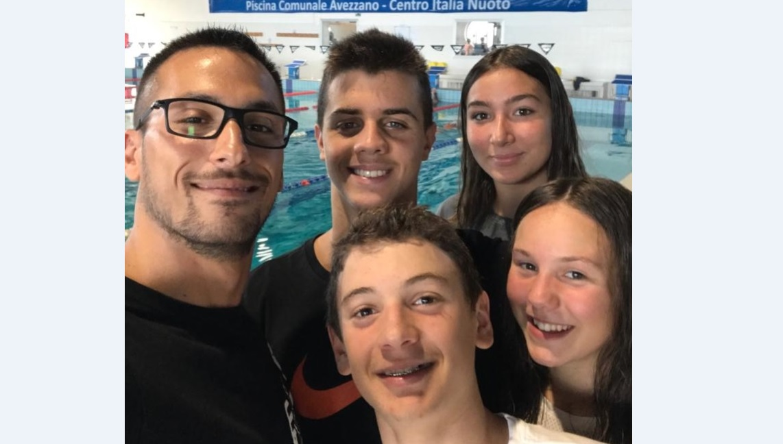 Nuoto, Team Centro Italia, ecco i magnifici 4 che parteciperanno ai prossimi Campionati Nazionali di Nuoto a Roma