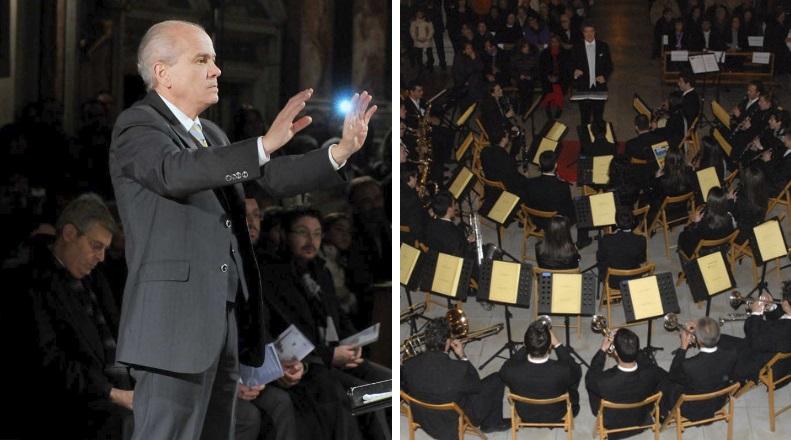 Concerto dei Leoncini d'Abruzzo con il M° Josè Maria Sciutto