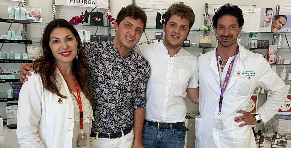 Oggi alla farmacia Stornelli di Avezzano è possibile iscriversi alla RACE FOR THE CURE