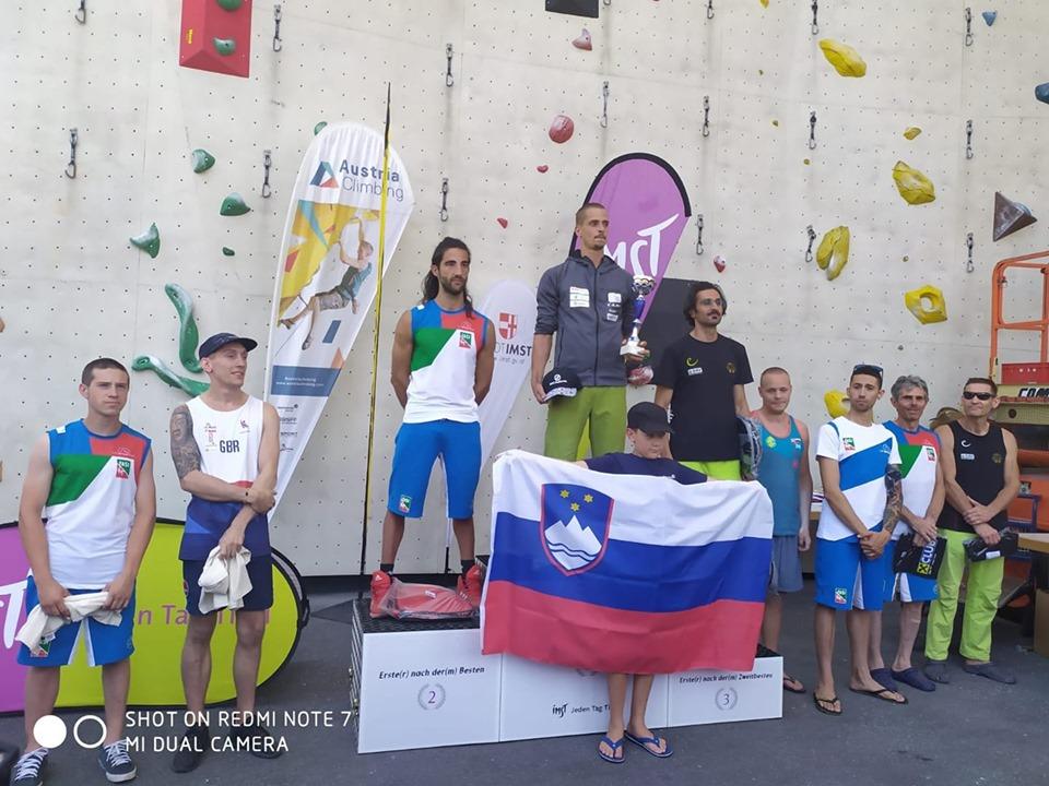 Il marsicano Federico Di Felice sul podio del Master Internazionale Paraclimb