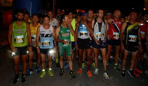 """Torna la Tagliacozzo Night Race, """"La gara più luminosa dell'estate"""""""