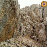 Gran Sasso, incidente sulla ferrata Ventricini per due escursionisti, recuperati con l'elicottero del 118