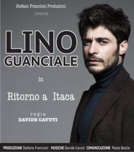 """Lino Guanciale a Collelongo con lo spettacolo """"Ritorno a Itaca"""""""