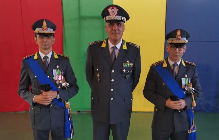 Il Colonnello Gabriele Nastasi, da oggi è il Comandante Provinciale L'Aquila, prende il posto di Aloia