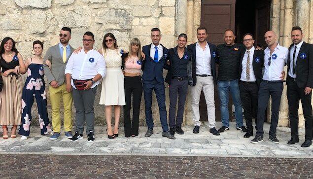 I trentenni di Ortucchio in festa