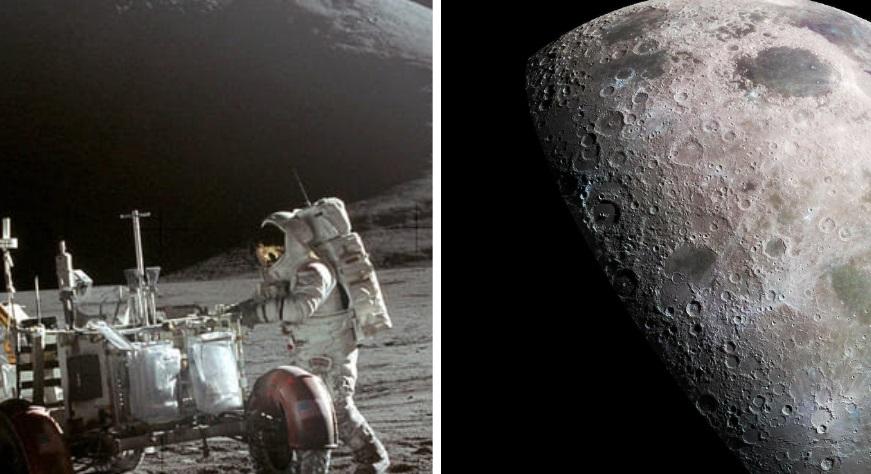 """La Luna, cinquant'anni dopo la storica """"passeggiata"""""""