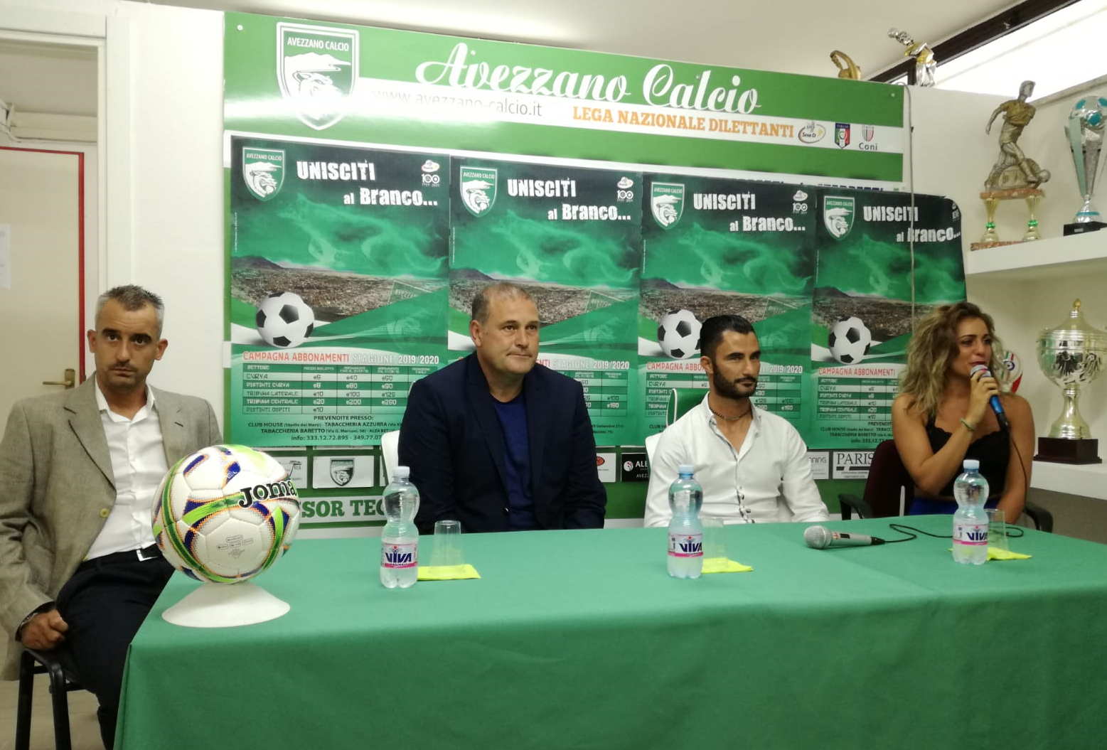 Prende forma la nuova Avezzano Calcio, presentati il mister ed il direttore sportivo