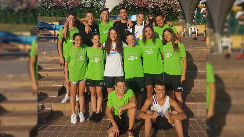 Capolavoro dei nuotatori avezzanesi del Team Centro Italia