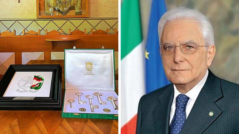 Tagliacozzo è la prima tappa della visita del Presidente della Repubblica Sergio Mattarella