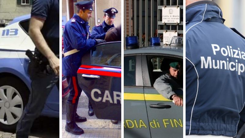 Proseguono i servizi coordinati interforze nel centro storico di L'Aquila