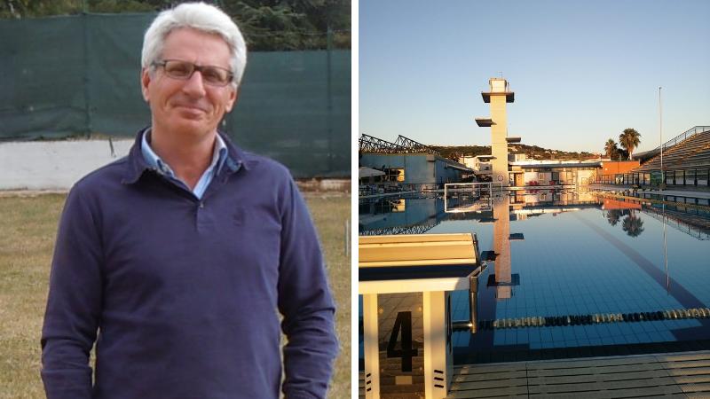 """Conto alla rovescia per la cerimonia d'inaugurazione della piscina olimpionica dell'impianto sportivo """"Le Naiadi"""""""