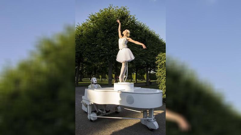 """""""Carillon vivente"""" alla festa della della Madonna del Carmelo a Pescasseroli"""