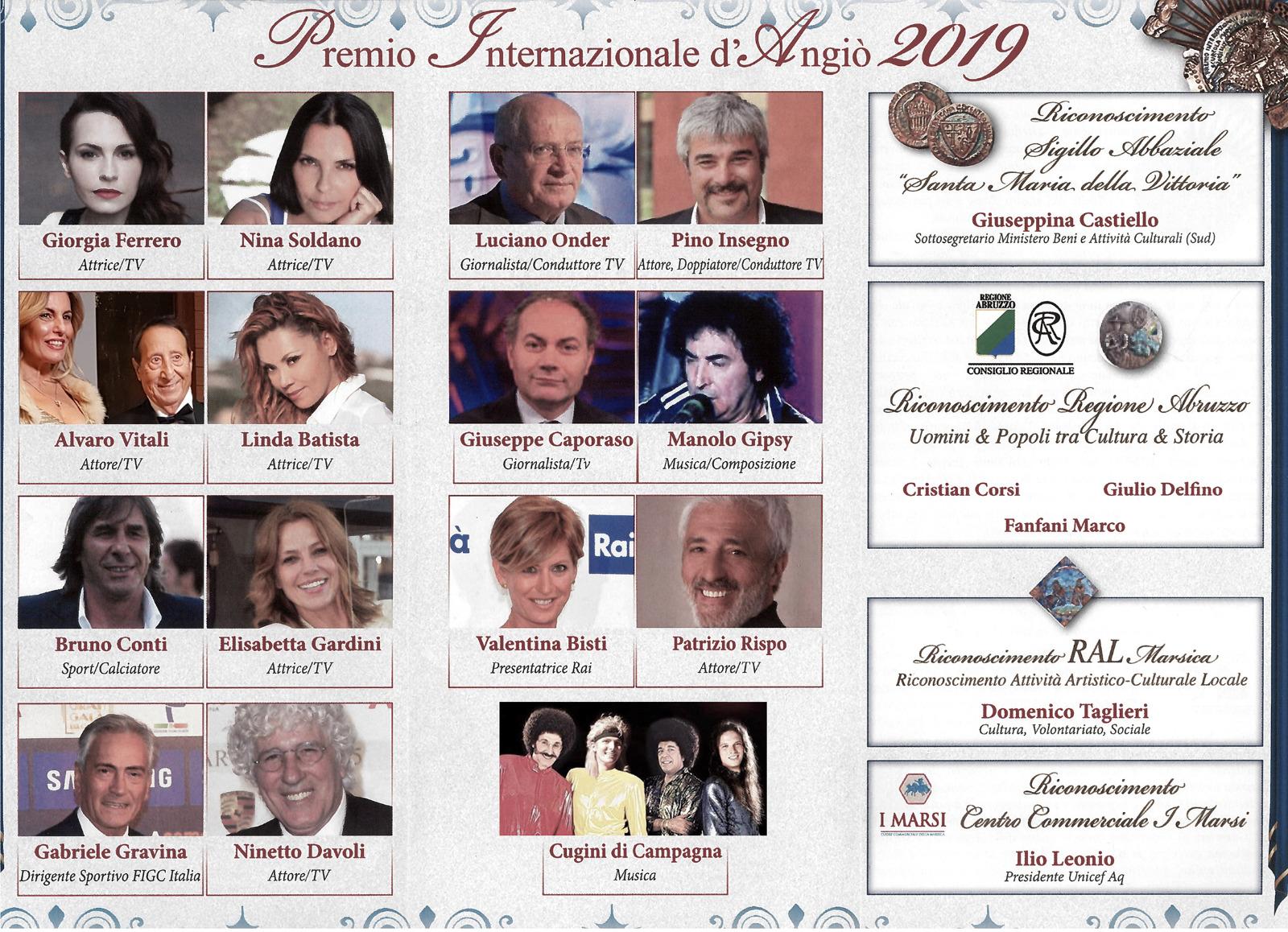 Premio internazionale Carlo D'Angiò, venerdì la cerimonia di premiazione