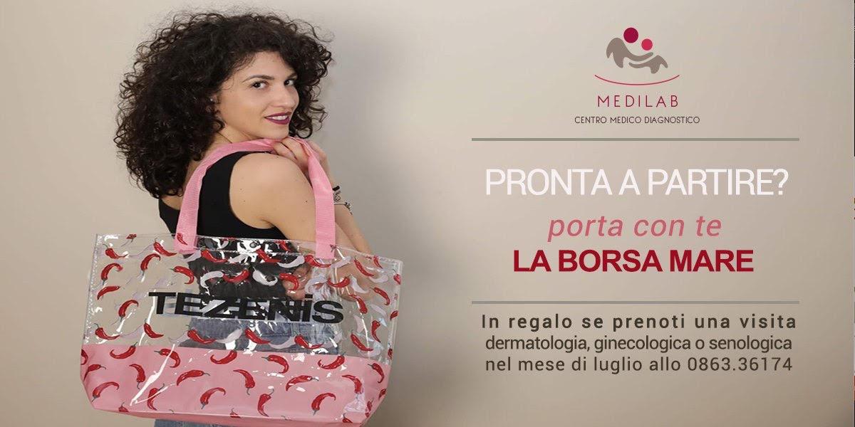 Una borsa da A…mare! Medilab e Tezenis uniti per la prevenzione oncologica