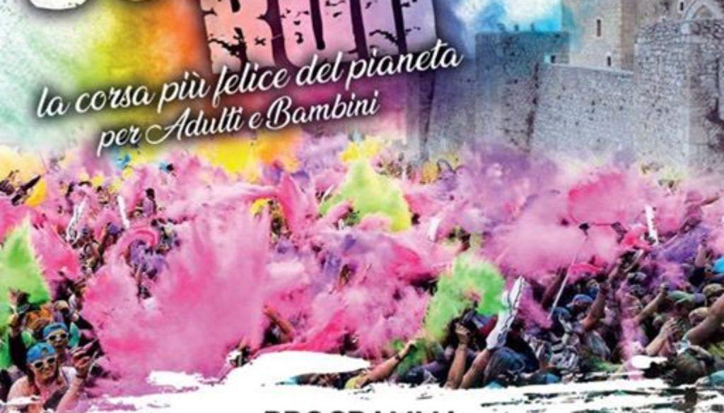Arriva a Celano la Color Run 2 la corsa più colorata del pianeta