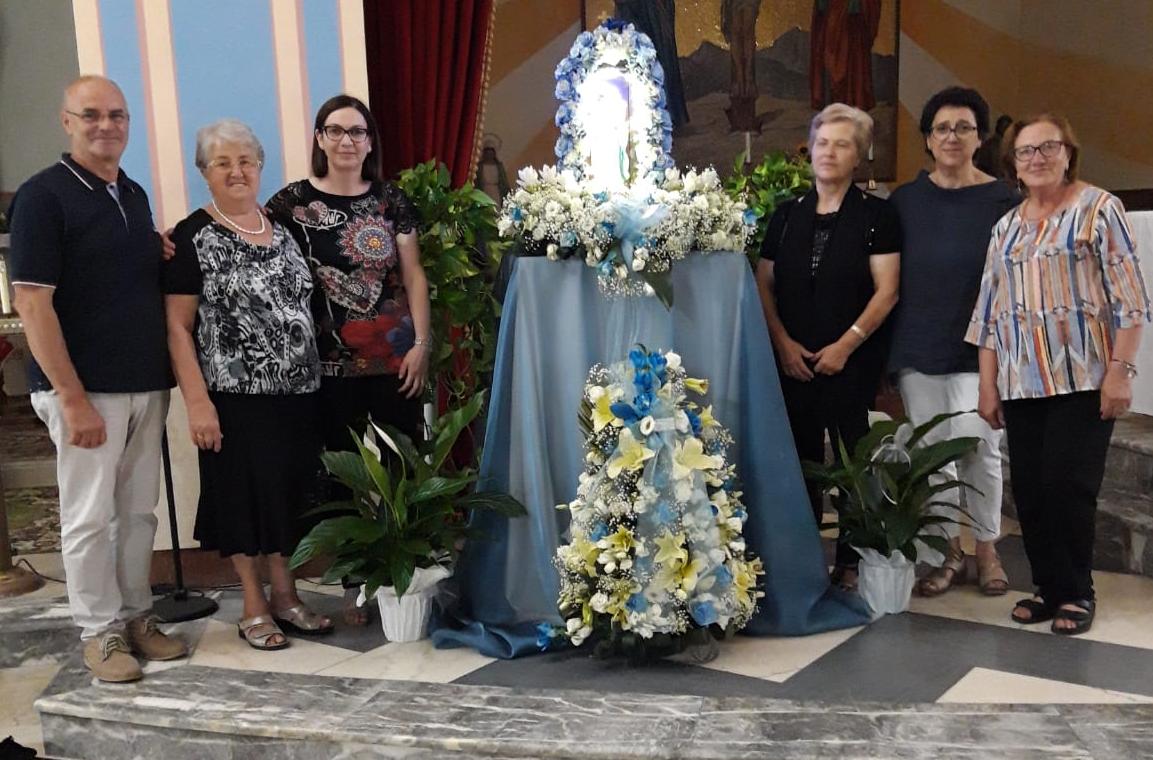 Grande soddisfazione per la Confraternita di Nostra Signora dopo la festa dell'Assunta a Capistrello