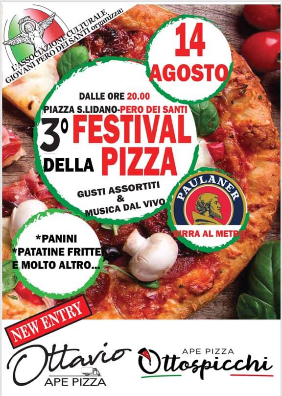 Teerza edizione del festival della pizza a Pero Dei santi