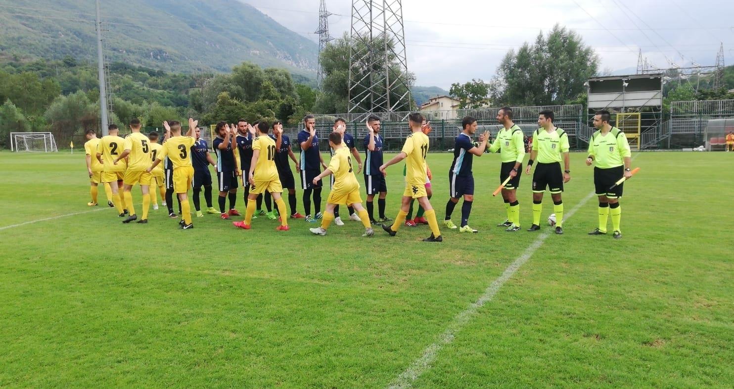 Coppa Italia: Celano - Pucetta a porte chiuse