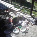 """Zozzoni di ferragosto a Cerchio, il sindaco Tedeschi, """"ragazzi oggi andate pulire tutto"""""""