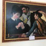 Espongono le opere i Pittori in Faggeta a Villavallelonga