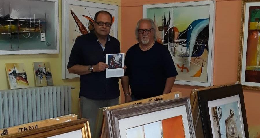 Inaugurata a Lecce nei Marsi la mostra del noto Pittore Mario Zarini