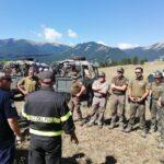 VV.F. Abruzzo, concluso il corso antincendio boschivo per guardie del servizio sorveglianza Ente Parco Nazionale