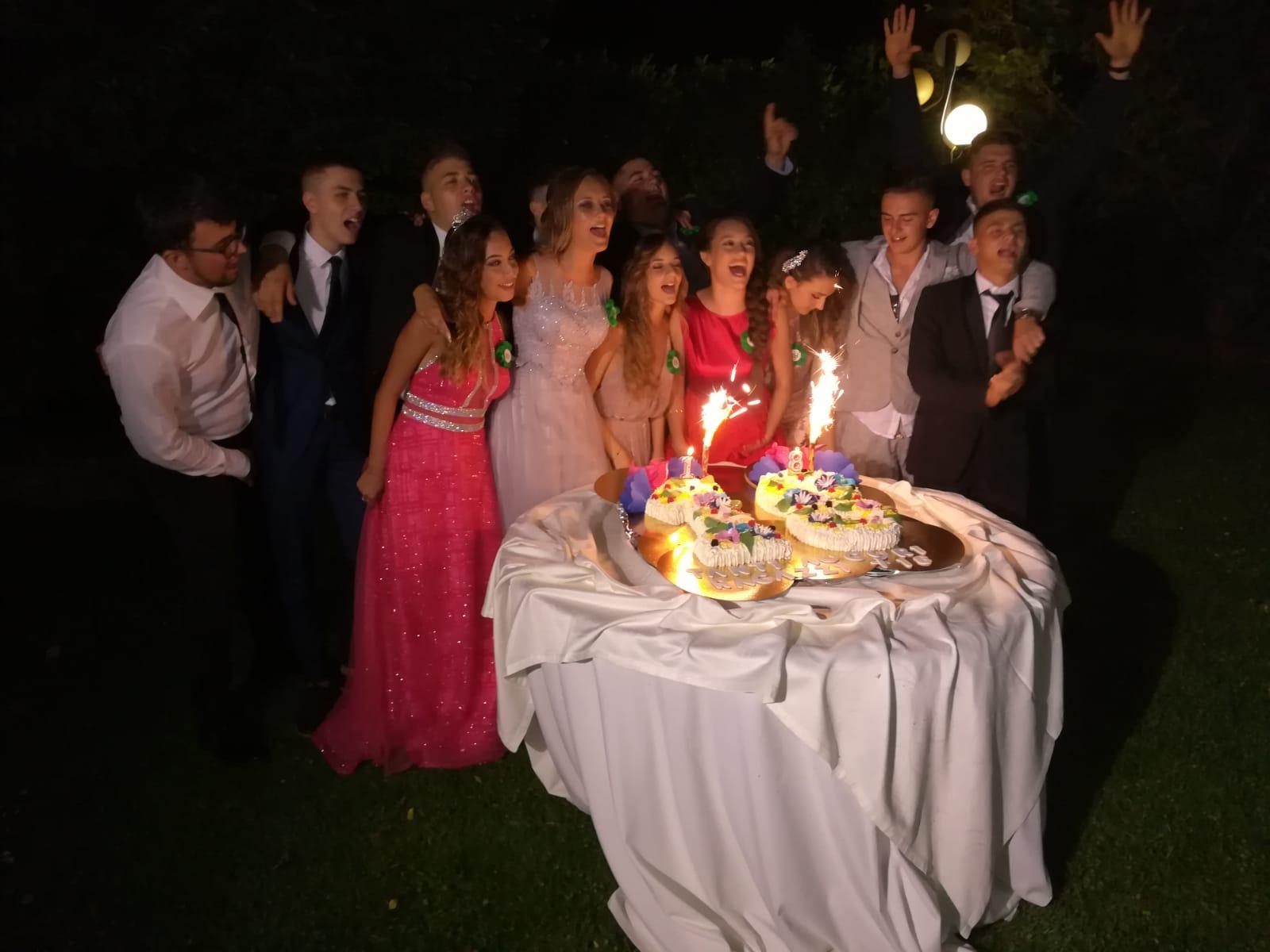 La classe 2001 di Lecce Nei Marsi festeggia i suoi 18anni