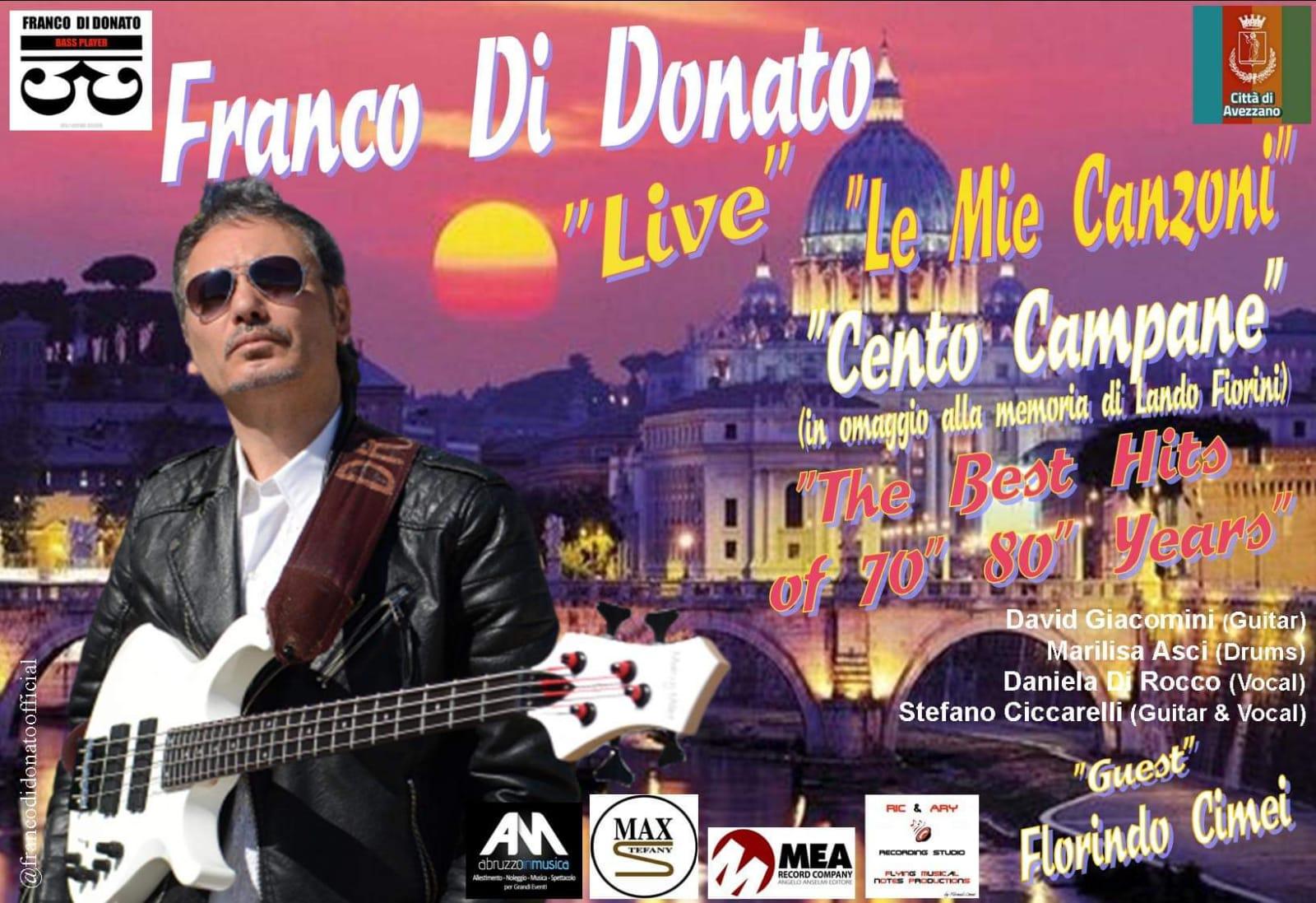 Franco Di Donato live in Piazza Risorgimento