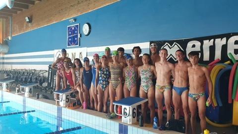 Alla Pinguino Nuoto gli allenamenti della nazionale giovanile di triathlon