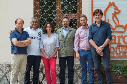 Il nuovo Direttore del Parco il Col. Luciano Sammarone incontra i vertici dell'Ente