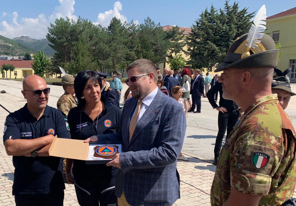 """Santangelo al Battaglione Vicenza """"Grazie Alpini per il vostro impegno"""""""