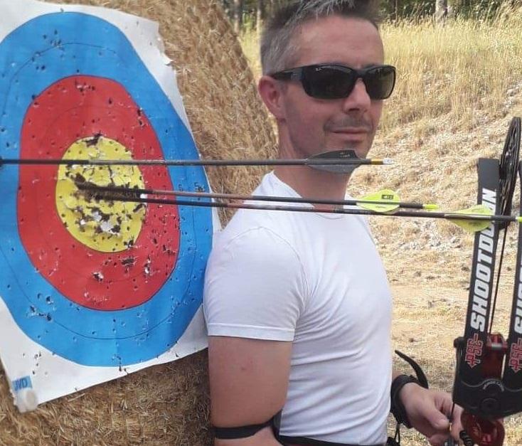 L'Arciere marsicano Antonio Del Fosco ai Campionati Italiani Para-Archery