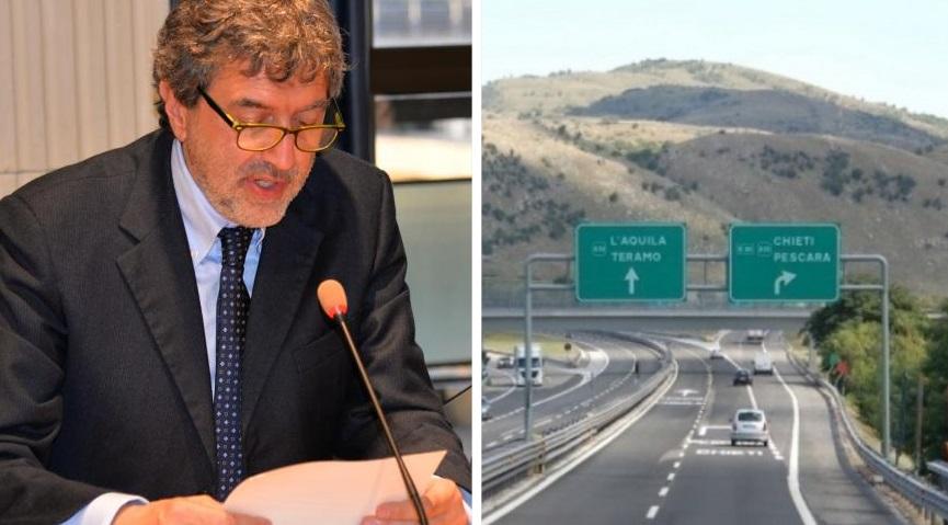 Marsilio soddisfatto per il blocco dell'aumento delle tariffe autostradali
