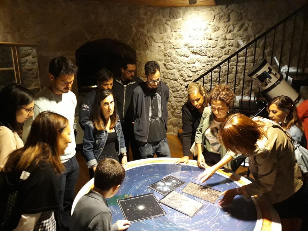 Continua con successo l'attività di osservazione astronomica ad Aielli