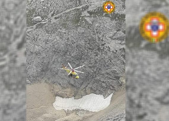 Gran Sasso, alpinisti in difficoltà soccorsi sul Corno Piccolo
