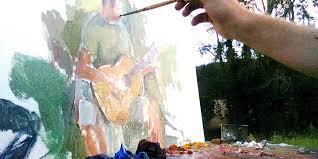 Happening di pittura estemporanea per la II Collettiva d'Arte Contemporanea a Trasacco