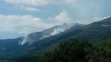 Domato l'incendio in Val Fondillo, nel cuore del Parco Nazionale D'Abruzzo, Lazio e Molise