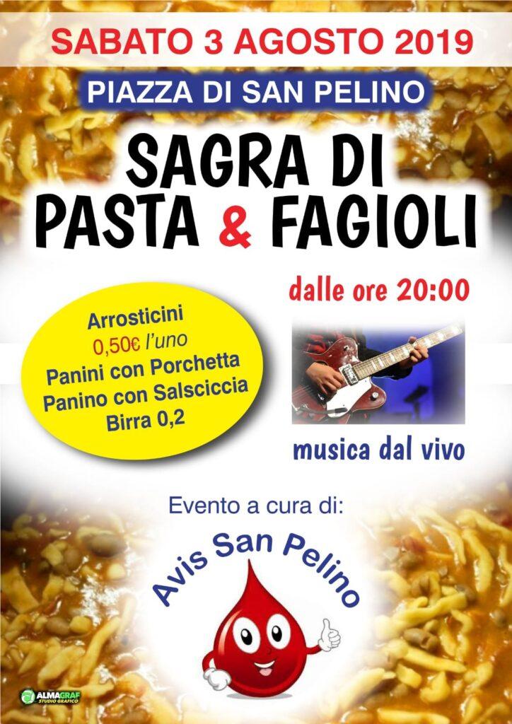 San Pelino, sabato 3 agosto appuntamento con la tradizionale sagra di pasta e fagioli