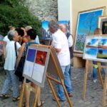 """Successo di pubblico all' inaugurazionedella Mostra d'Arte Contemporanea """"TransumasArte"""""""