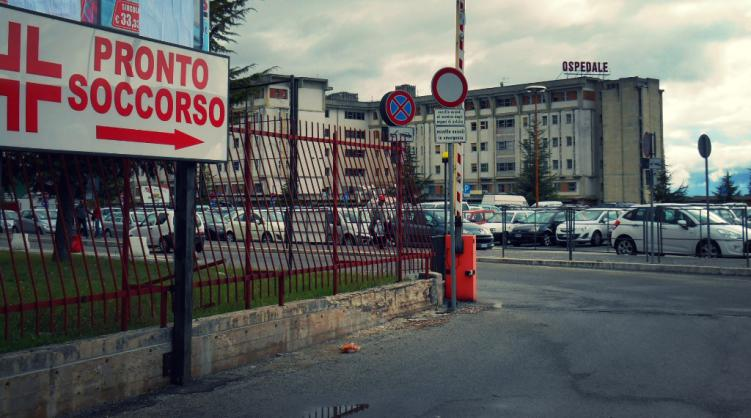 Tenta il suicidio al Pronto Soccorso di Avezzano, salvato dalle Guardie Giurate