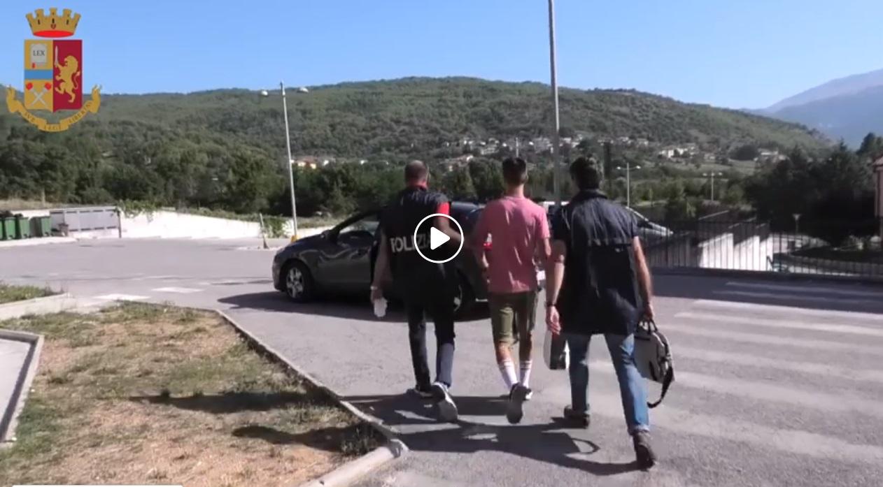 Eseguite misure cautelari nei confronti di giovani per minacce, atti persecutori, rapina, lesioni, associazioni a delinquere (Video)