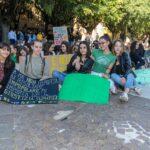 """Gli studenti marsicani in piazza Risorgimento per il clima, """"E' importante fare queste manifestazioni, ma il nostro impegno non deve fermarsi qui"""""""
